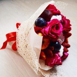 Букет из фруктов, фруктовый букет, букет из фруктов своими руками, купить букет из фруктов, букет из фруктов фото, букет из фруктов сочи, Подарок девушке на день рождения, подарок девушке