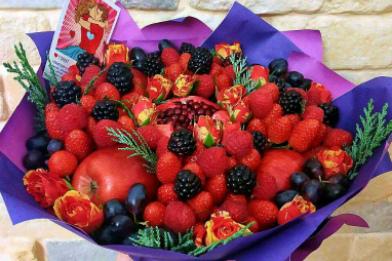 Букет из фруктов, Букет из фруктов сочи, фруктовый букет